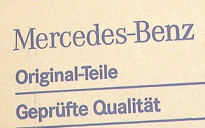 Mercedes-Benz Parts News: Body Trim; Fluids