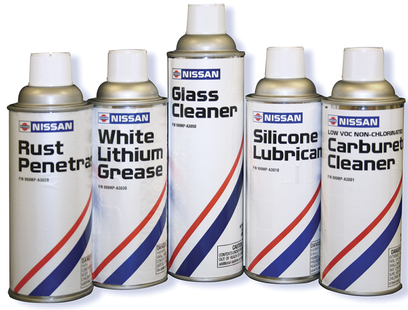 Nissan offers a wide variety of specialty products designed to help you properly service Nissan and Infiniti vehicles.