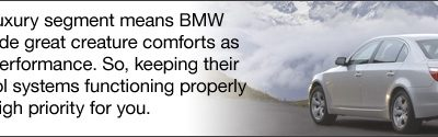 Environmental Impact – BMW Climate Control Systems