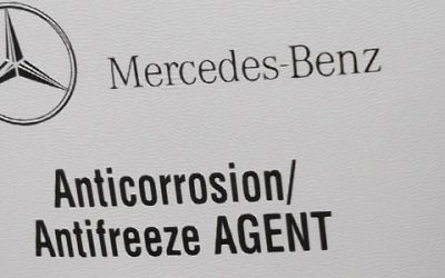 Why You Should Use Mercedes-Benz's New Blue Anti-Freeze