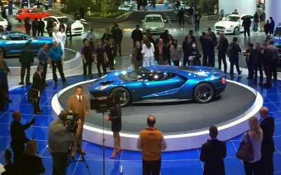 Detroit Auto Show: The Return of Horsepower and Speed