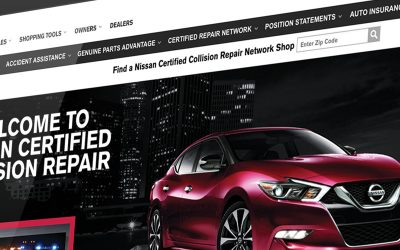 Use Nissan's Consumer Collision Website to Educate Customers