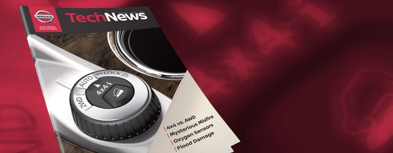 Nissan TechNews August 2018