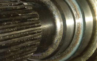 "2002 Audi  A6 Quattro Transmission Oil Seal Leak ""Wrong Parts"""