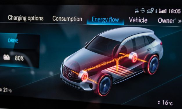 Mercedes-Benz Regenerative Braking in Hybrids and EVs