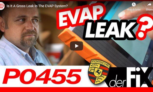 Is It a Gross Leak in the EVAP System?