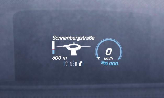Mercedes-Benz Head-up Display: Eyes Forward