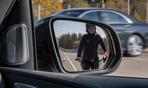Mercedes-Benz Blind Spot Monitoring System